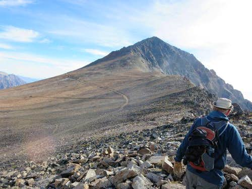 Climbing Mt Tom via the Southwest Ridge