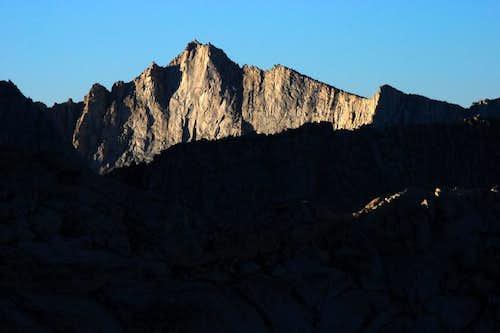 Finger Peak from LeConte Divide