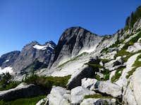 Salish Peak from the northeast