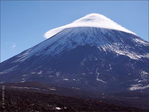 Expedition-style mountaineering in Kamchatka, Klyuchevskaya Sopka range