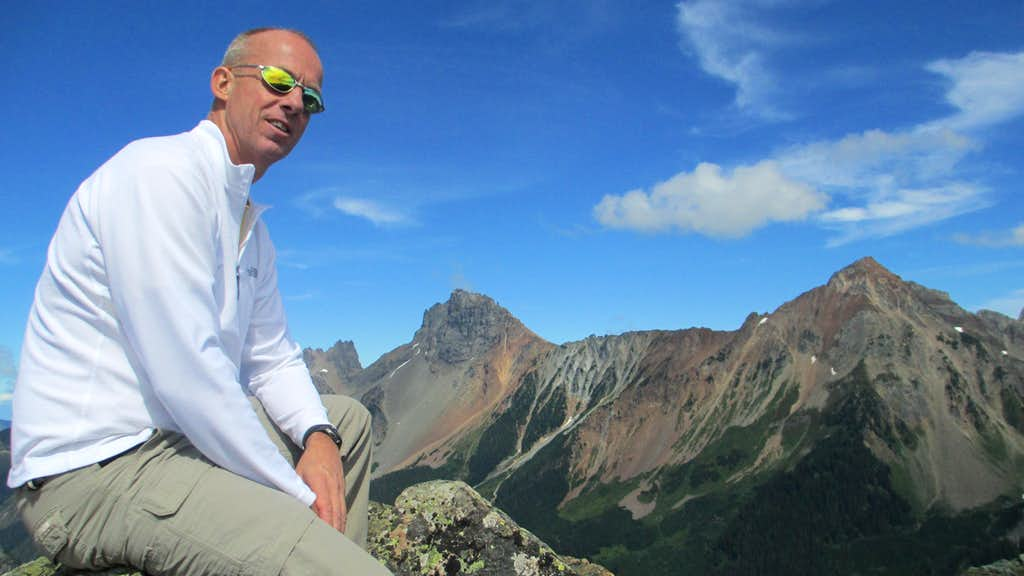 Summit of Yellow Aster Butte