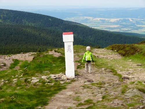 Walking down in Czech or Poland ?