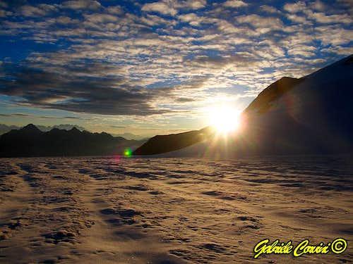 Trajo glacier