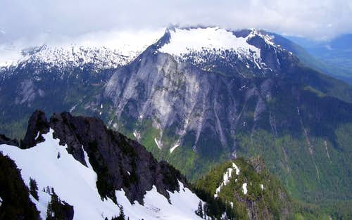 Squire Creek Wall from Jumbo Mountain