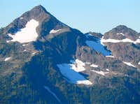 Mount Steel\'s NW Face