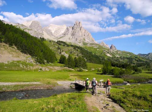 Start of the path to Crête de Moutouze