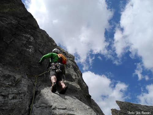 On the ridge. Crete de Moutouze