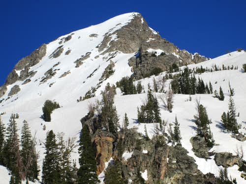 Static Peak seen on the approach to Buck Mountain, May 2013
