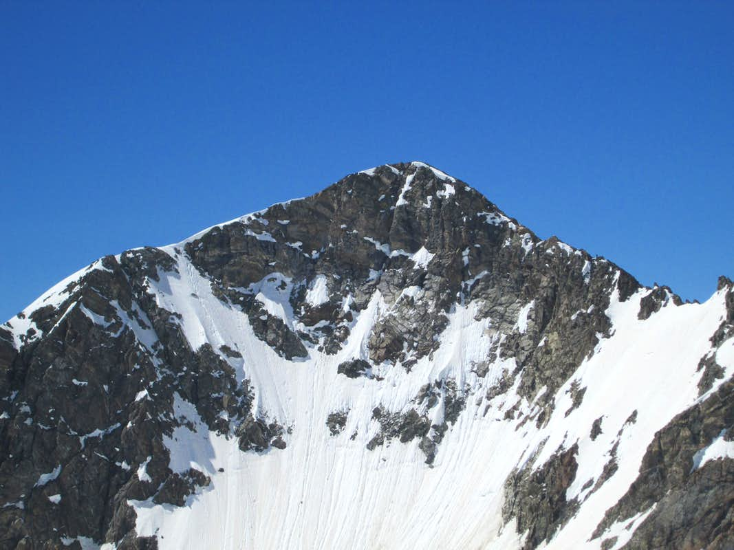 The North Face of Static Peak seen from Buck Mountain