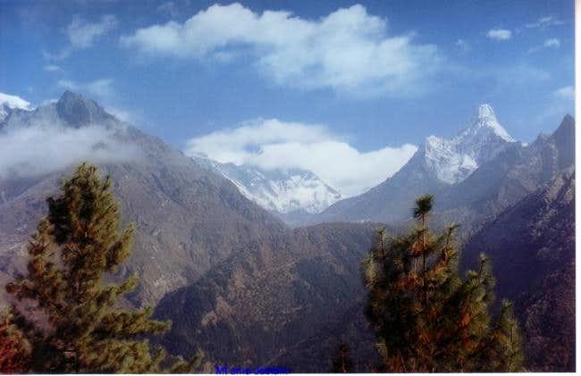 The beautiful scenery of...