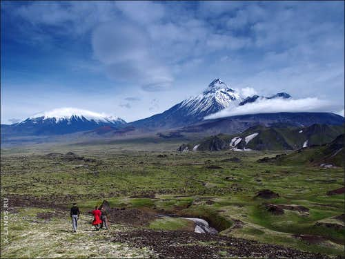 Fairy land of volcanoes