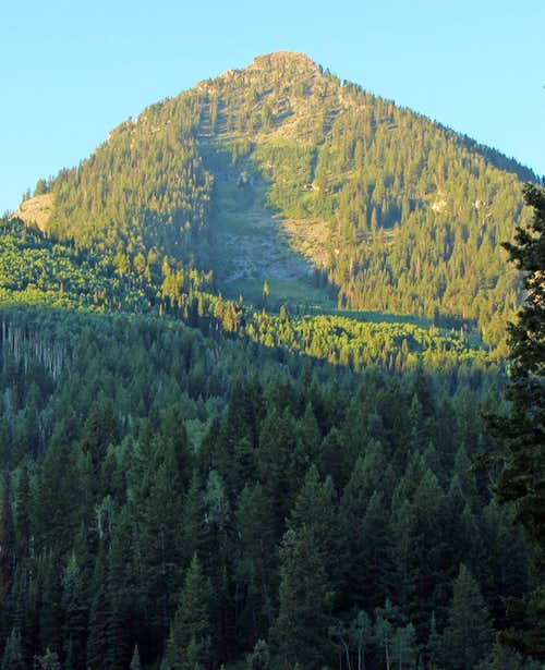 Kessler Peak from Butler Fork Trailhead
