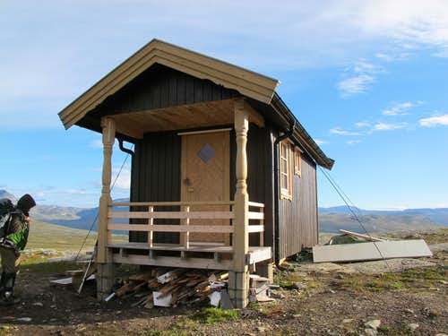 New hut at Gappo