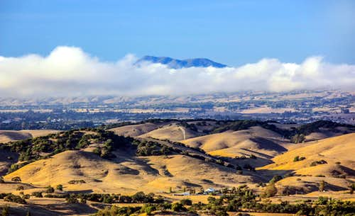 Mt. St. Helena from Red Hill