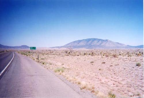A view of Carrizo Peak from...