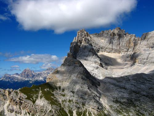 Torre dei Sabbioni summit view