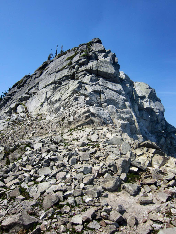 Scrambling Toward West Granite