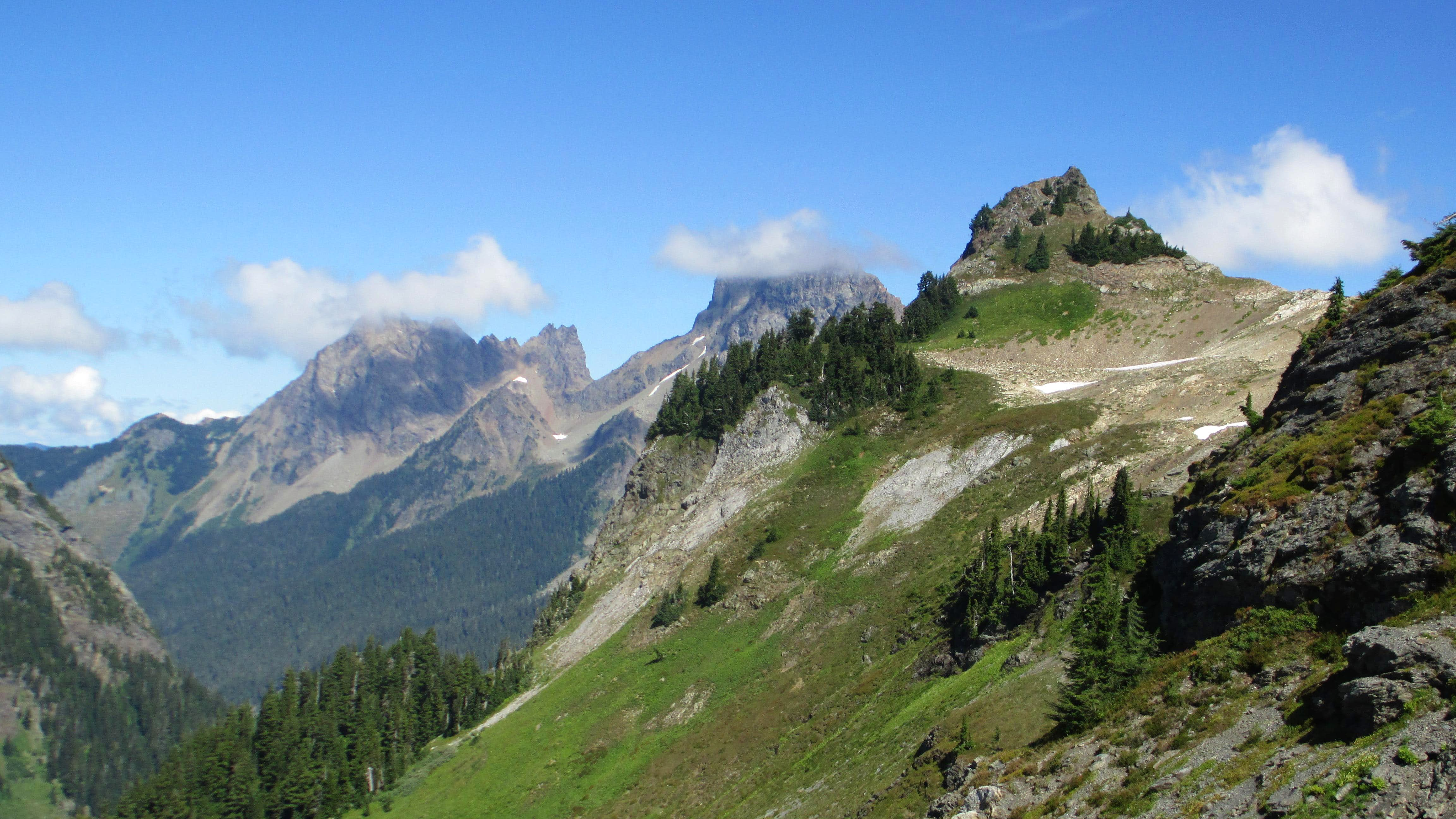 My First Taste of the North Cascdes: Mount Baker Scenic Byway
