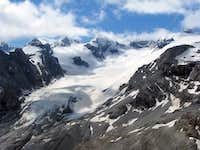 Nice view of Madatsch Glacier