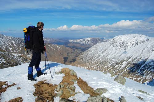 Lakes 2013: Helvellyn by snow-cave