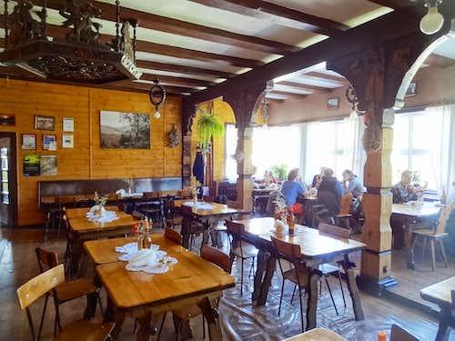 Inside Andrzejówka hut