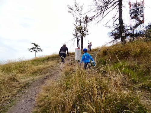 Trail to Ruprechtický Špičák