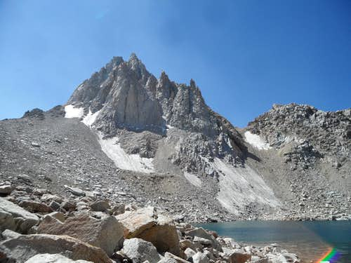 North side of Mt Haeckel