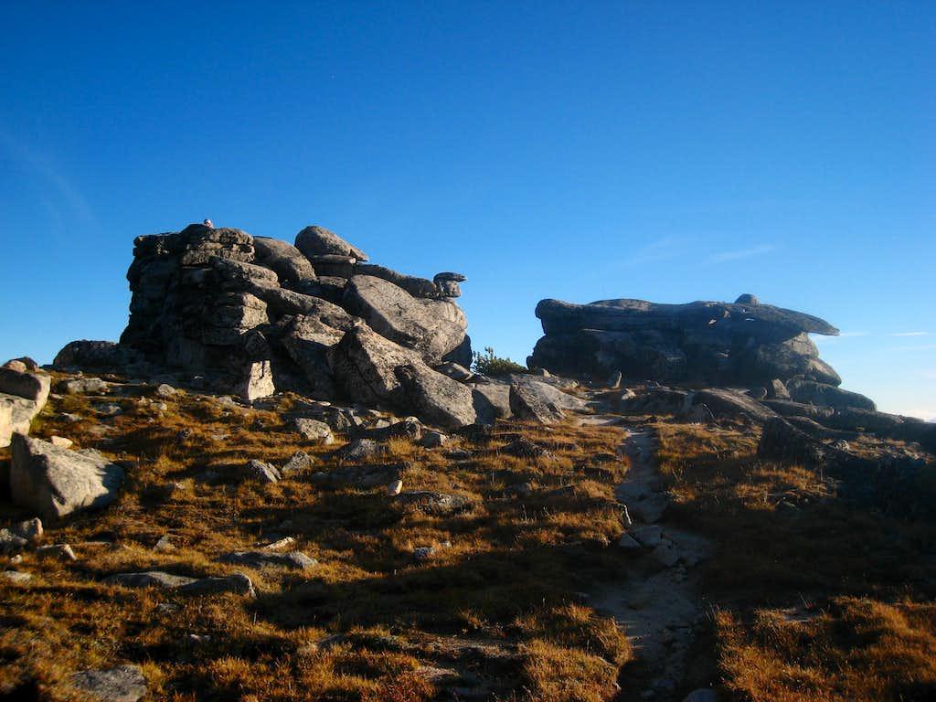 Little Annapurna summit rocks