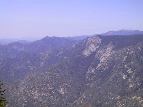 View of Moro Rock and the...