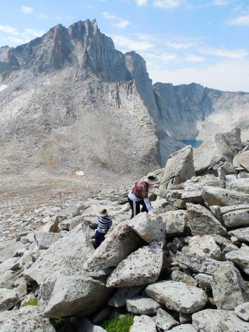 Climbing the Southwest Ridge