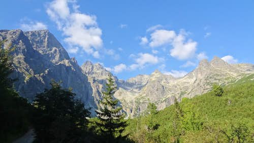 Open views to the High Tatras