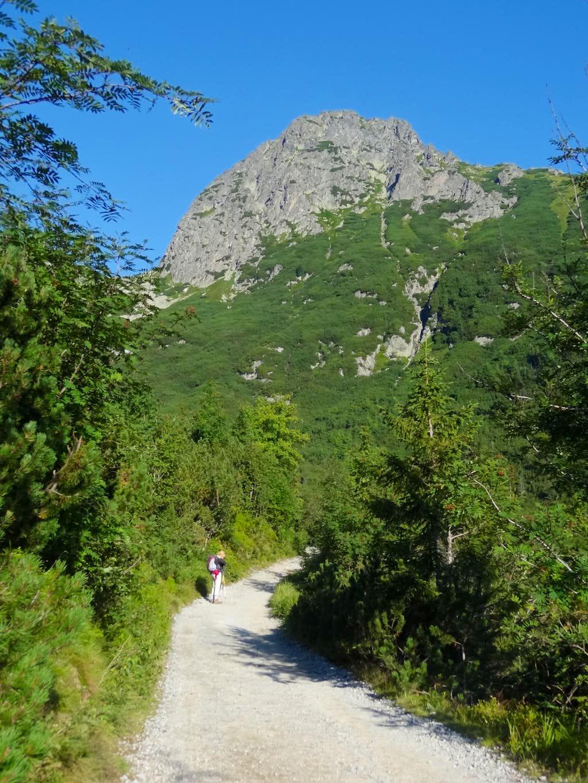 First views to the High Tatras