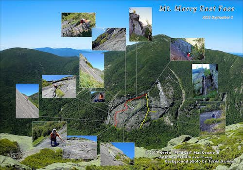 Marcy East Face: A Full Climb-Rappel and Night on Haystack