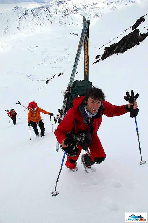 Bakening (2278 m) - climbing