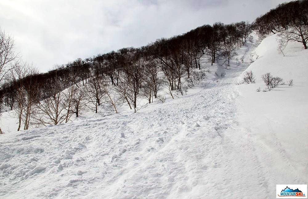 Bakening (2278 m) - the way up to Palec (1225 m)