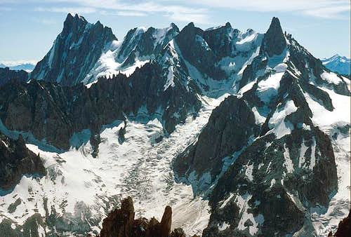Grandes Jorasses to Dent du...