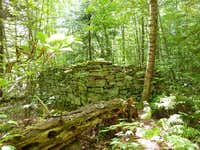 remnants of Sam Smith's cabin (the Hermit of the Gulf)