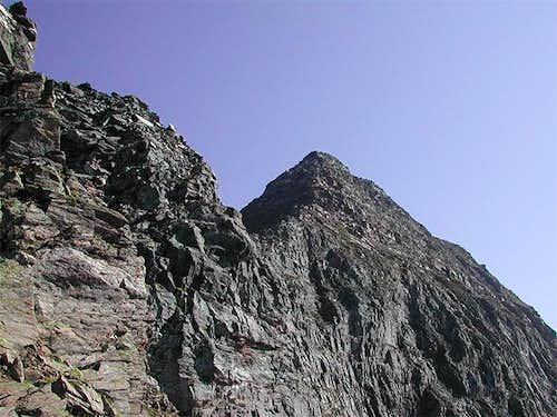 Punta del Rebbio - SW-ridge...