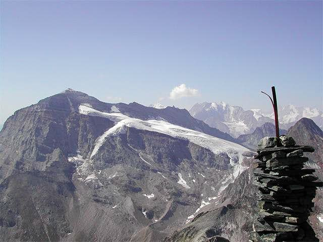 At the top - view to Monte...