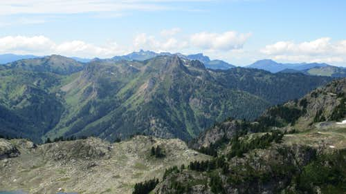 The View South From Yellow Aster Butte