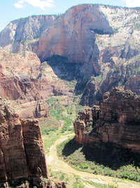 Virgin River & Zion Canyon