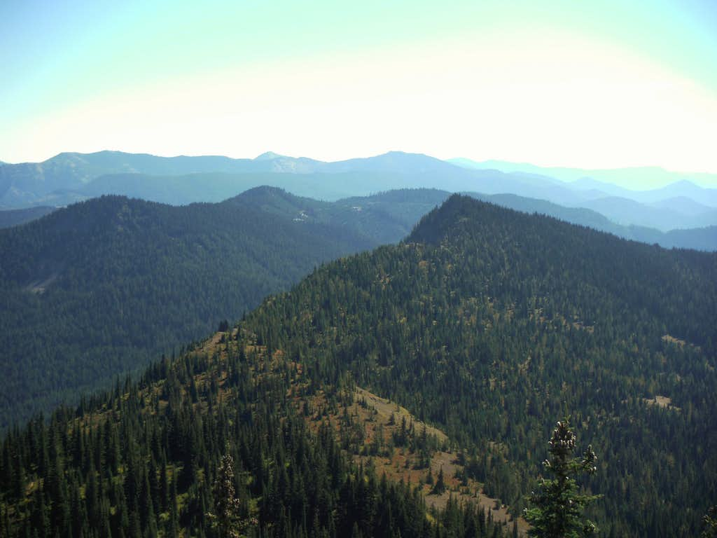 Looking east from Blowout Mountain