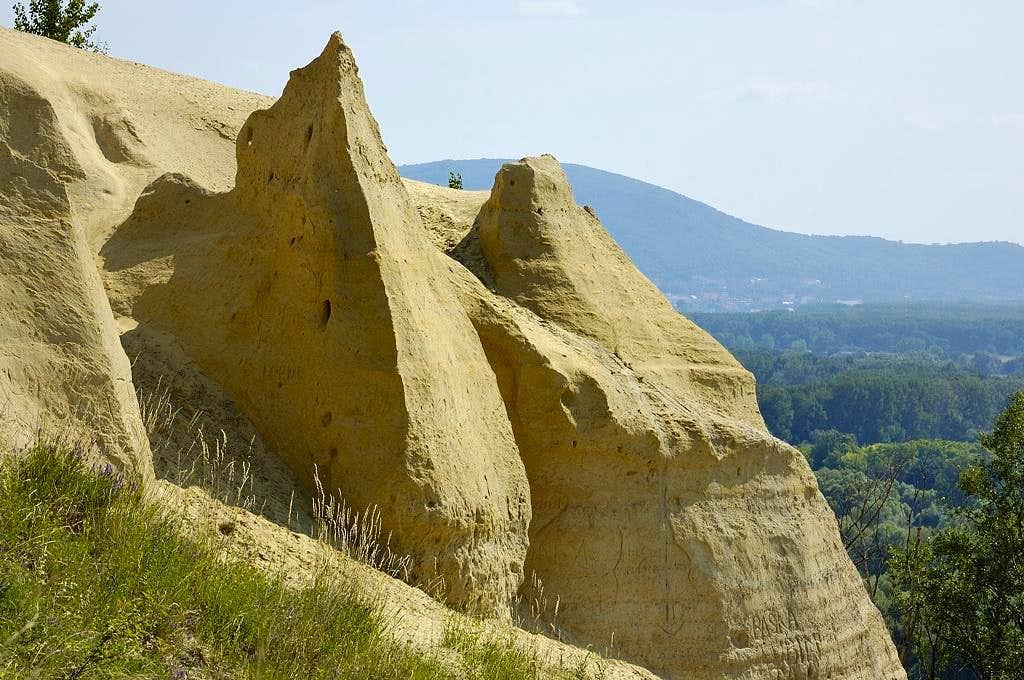 Fancy sandstone rock Sandberg