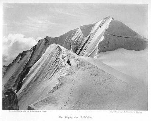 Hochfeiler from a picture of 1890