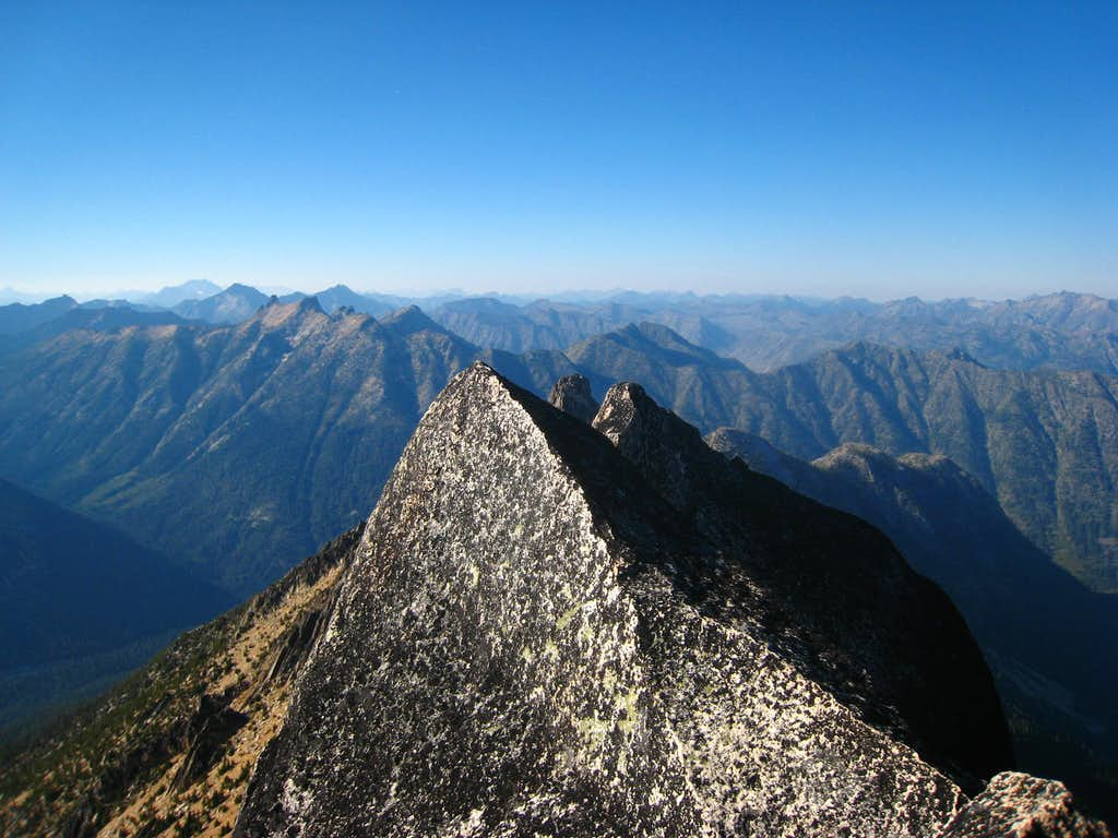 Burgundy Spire summit