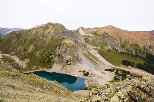 Capitol Lake from Daly Pass