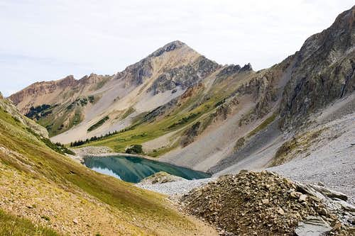 Capitol Lake and Mount Daly