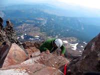 Summer climb