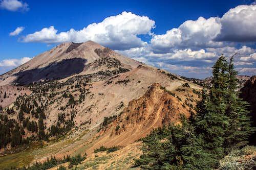 Lassen Peak from below Pilot Pinnacle