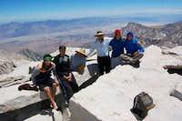 Mt. Whitney, CA Summit